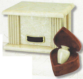 Marble Box Urn Cream Wash $59-$156