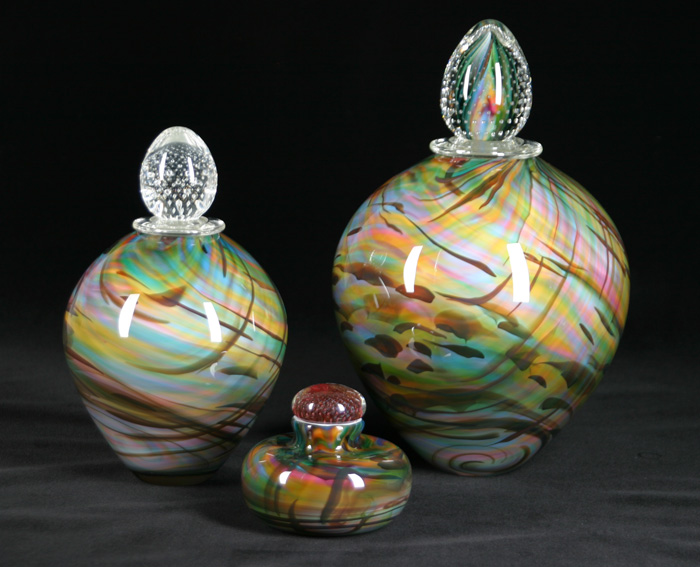 Rainbow Series Glass Urns $290-$700